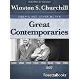 Great Contemporaries, 1937 (Winston S. Churchill Essays and Other Works Book 3)