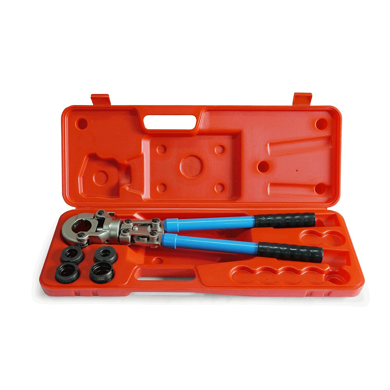 Pipetec Pressfitting Zange Handpresszange 16/20/26/32 mm TH Kontur Profil Crimpzange Presszange Pressfittinge PEX Verbundrohr Stabilo-Sanitaer