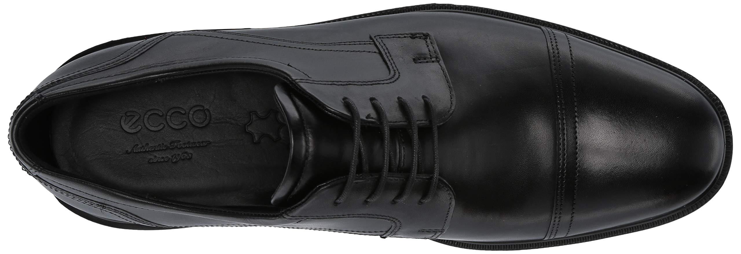 ECCO Men's Lisbon Cap Toe Tie Oxford, Black, 48 EU/14-14.5 M US by ECCO (Image #8)