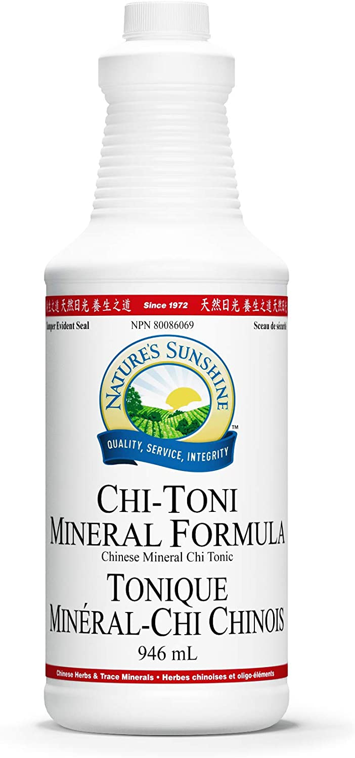 Nature's Sunshine Chinese Mineral-Chi Tonic 32 Ounce