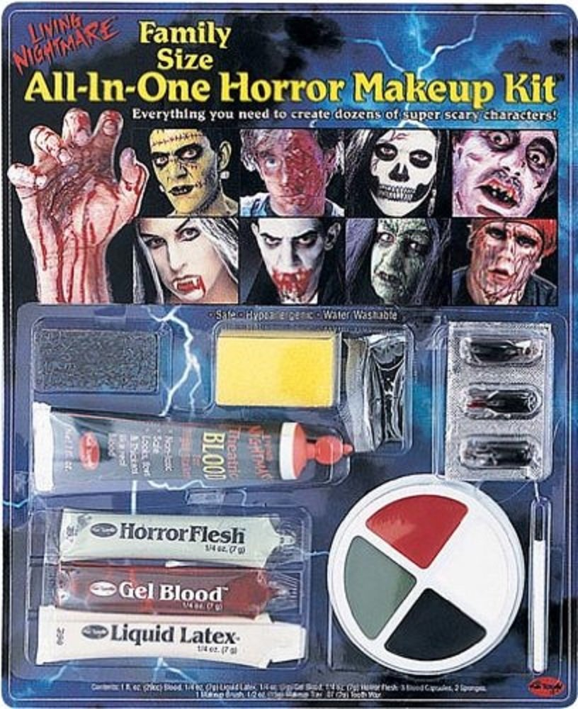 Fun World Fun World Lot de 3 kits de maquillage pour Halloween/Carnaval Wicked Costumes FW9424