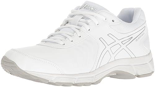 ASICS Women's Gel-Quickwalk 3 SL Walking Shoe, White/Silver/White,