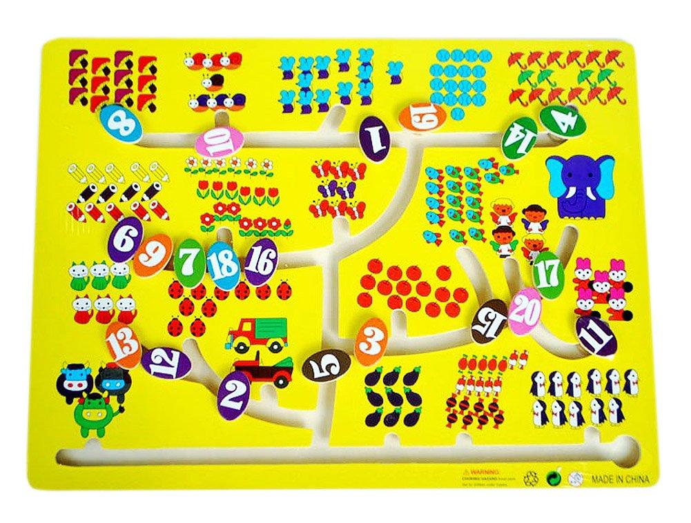 Kinder-Holz-Spielzeug Preschool Matze Brettspiel -Familien-Spiel - Nummer