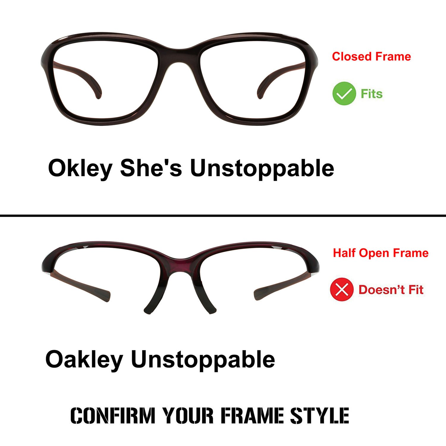 2ebe52ec506b Amazon.com   ACOMPATIBLE Replacement Lenses for Oakley She s Unstoppable  Sunglasses OO9297 (Black)   Sports   Outdoors