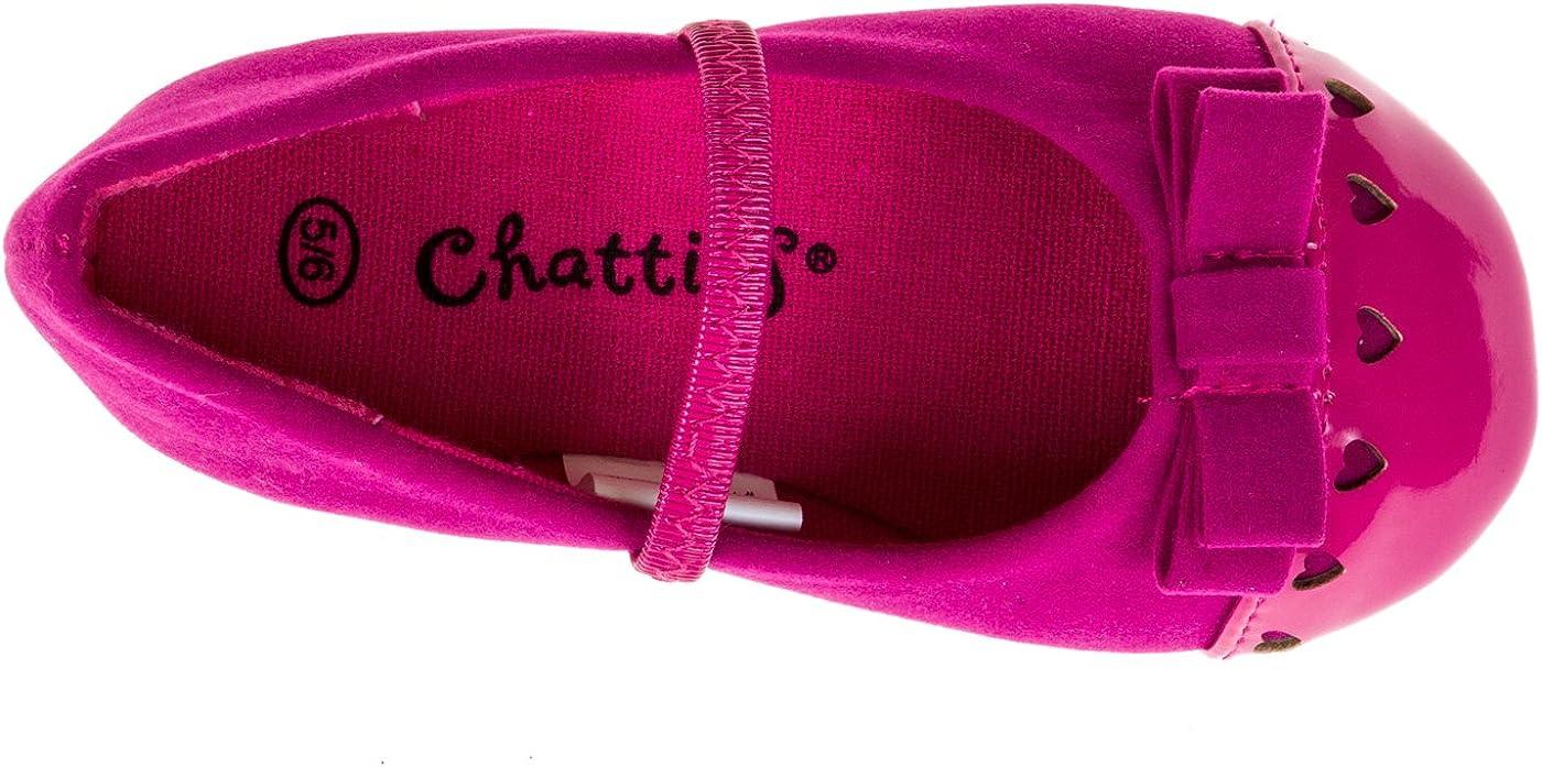 Chatties Toddler Girls Velvet Ballet Flats See More Colors//Sizes