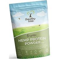 Protéine de Chanvre BIO en Poudre - récoltée en Europe - Riche en protéines, oméga-3, acides amines et magnésium - poudre de protéine vegan pure par TheHealthyTree Company (300g)