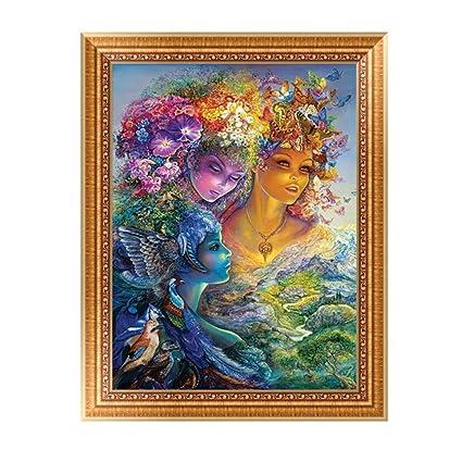 b8ceb53214 5D Diamond Painting, Botrong Goddess DIY Diamond Painting - Rhinestone Embroidery  Cross Stitch - Canvas