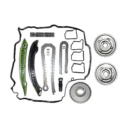 Camshaft Adjuster Timing Chain Kit For Mercedes W203 W204 C250 SLK250 E250  M271