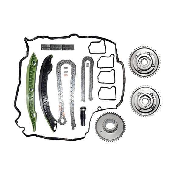 Amazon.com: Timing Chain Kit & Camshaft Adjuster Fit For Mercedes M271 W203 W204 E250 C250 SLK250 2710503347: Automotive