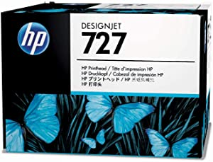 HP 727 732 B3P06A Original DesignJet Printhead, Matte Black, Photo Black, Cyan, Magenta, Yellow, Grey,for DesignJet T3500 MFP, T2600, T2500, T1600, T1500 & T900 Series Large Format, Inkjet Technology