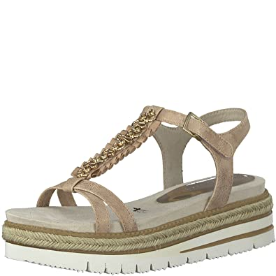 Tamaris Platform Platform Sandal 1-28701-20-579 Rose, Tailles Femmes:37, Couleur:Rosa