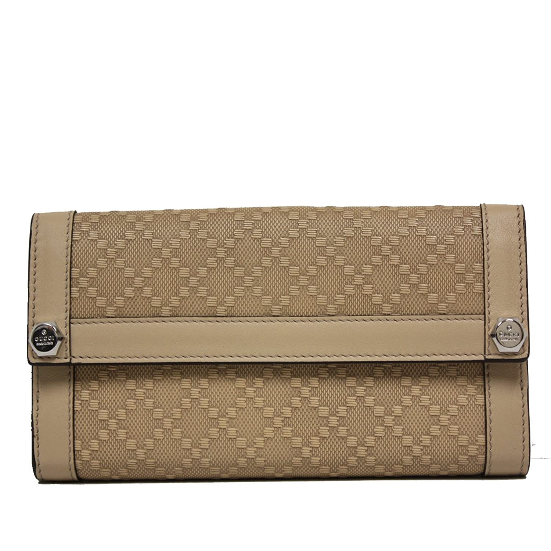 4e2f6062133 Gucci Diamante Leather Continental Flap Wallet 231839
