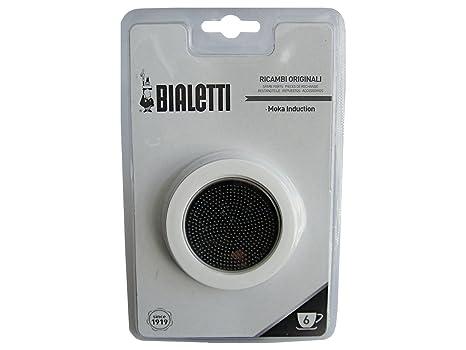 Amazon.com: Bialetti – Placa de 3 juntas y filtro de ...