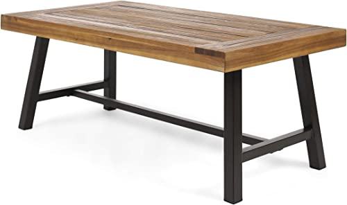 Christopher Knight Home Indoor Industrial Farmhouse Solid Wood Coffee Table