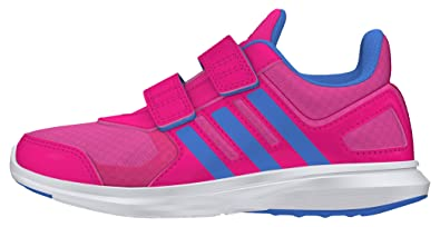 adidas Kids Shoes Girls Running Hyperfast 2.0 cf Eco Ortholite AQ3856 (EU 37 1/