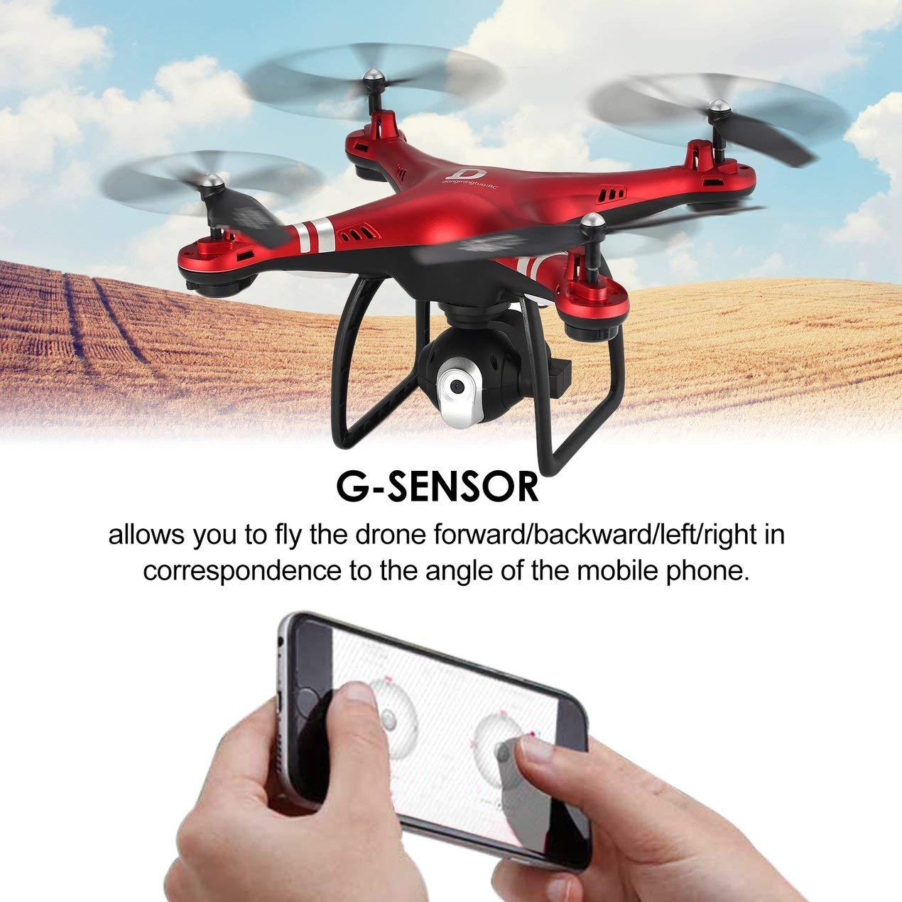 X8 RC Drone 720P Justierbare Kamera Kamera Justierbare FPV RC Drone 18mins Flug Altitude Hold cfa6f2