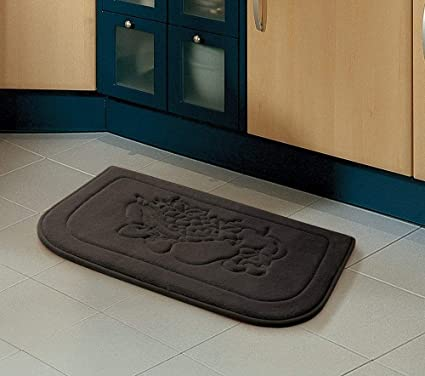 Amazon.com: Brown Fruit Memory Foam Anti Fatigue Kitchen Floor Mat ...