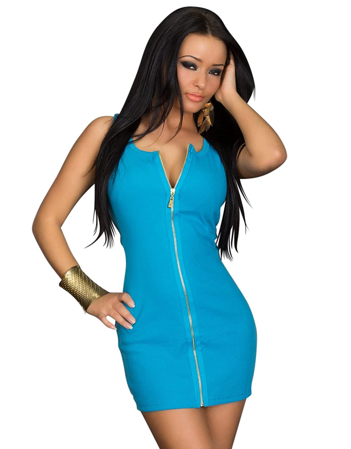 Tank Top Look 3439?Ribbed Mini Dress Dress Dress Robe (10/12