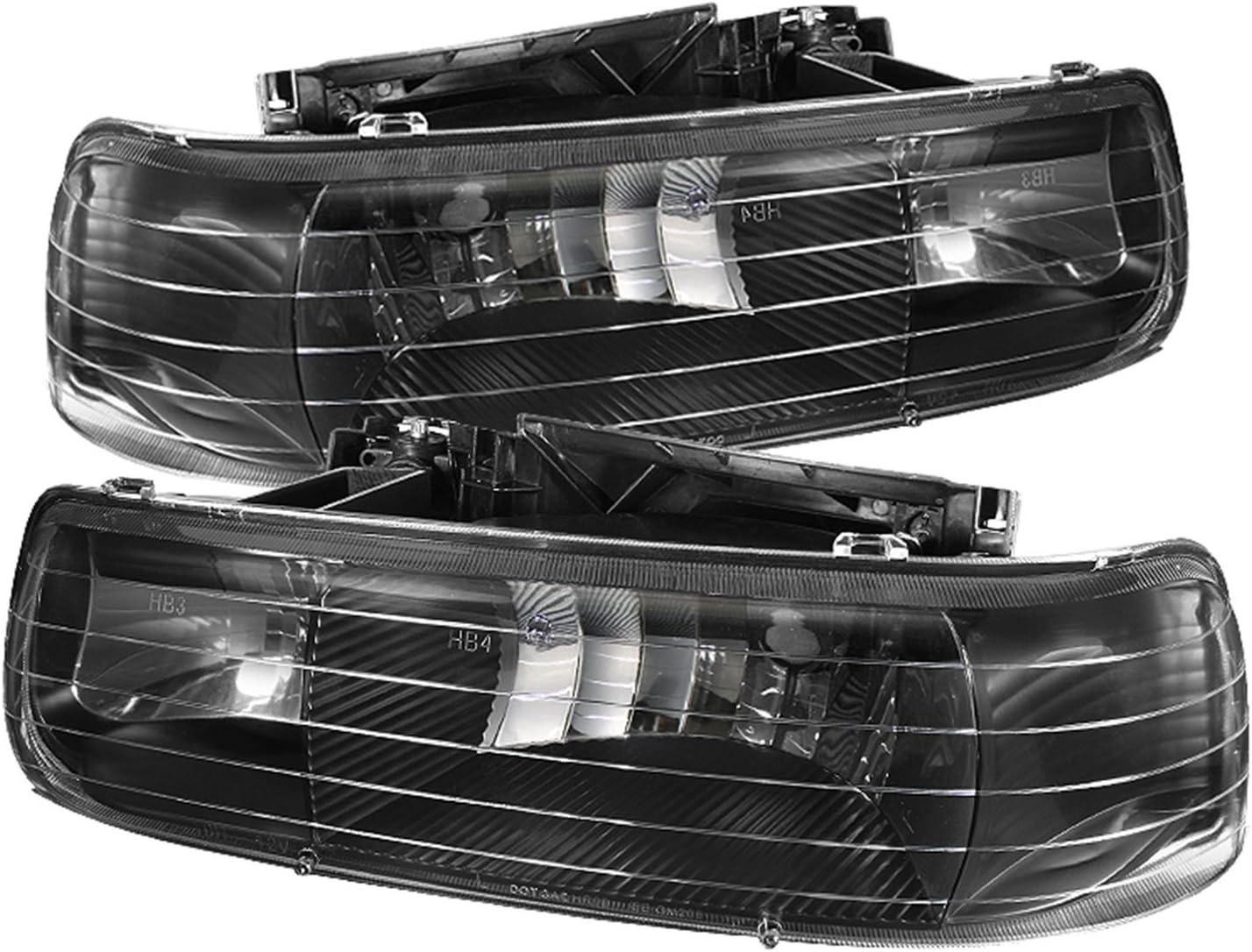 Fits Chevy Silverado 99-02 Spyder LED Fog Lights Chevy Suburban 00-06
