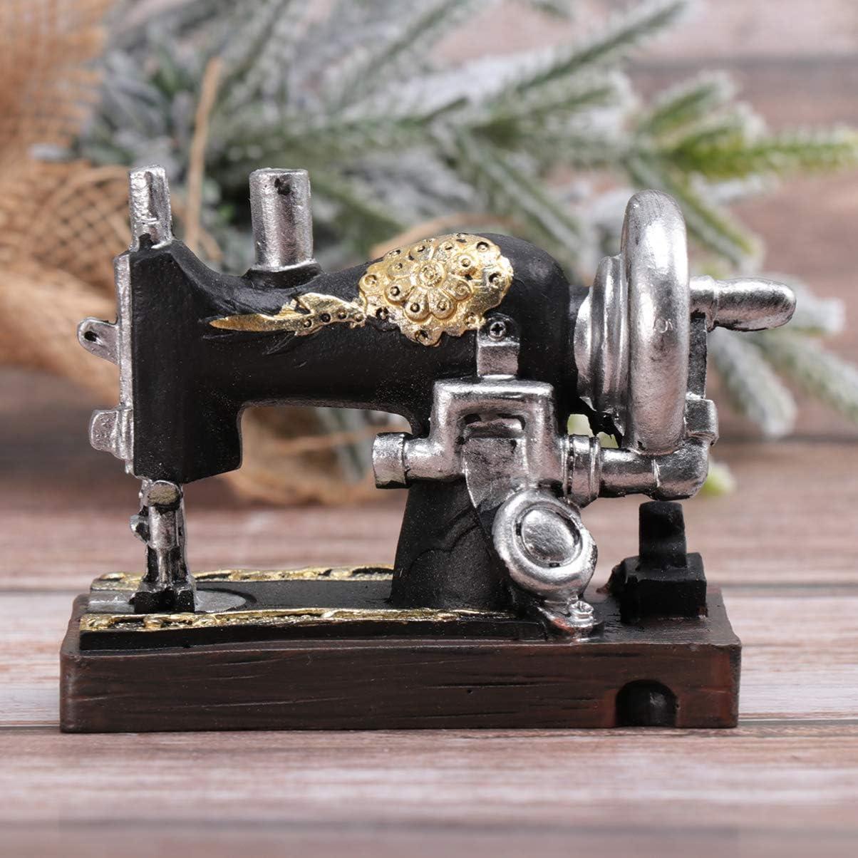 HEALLILY la máquina de coser Mini ornamento de costura modelo de ...