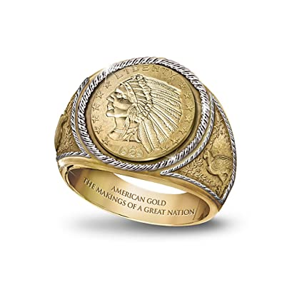 1929 $5 Indian Head Proof Ring by Bradford Authenticated Amazon
