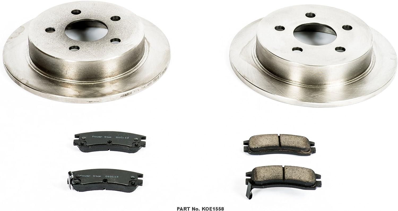 2x REAR OE Replacement Brake Rotors Disc For CENTURY REGAL IMPALA MONTE CARLO