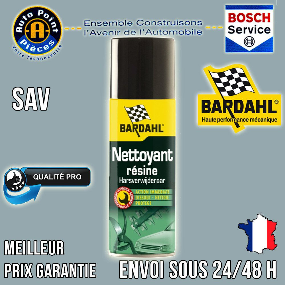 Bardhal 2004440 Nettoyage Ré sine en Spray, 200 ML 200ML