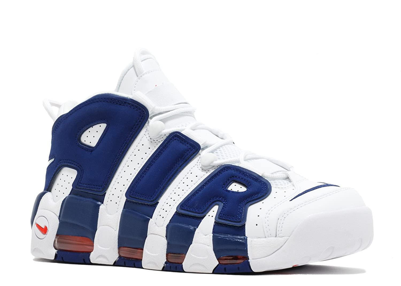 e2eac5ca49 Amazon.com | Air More Uptempo 96 'Knicks' - 921948-101 - Size 14 |  Basketball