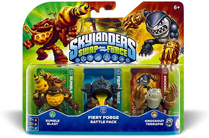 Skylanders: Swap Force - Battle Pack: Amazon.es: Videojuegos
