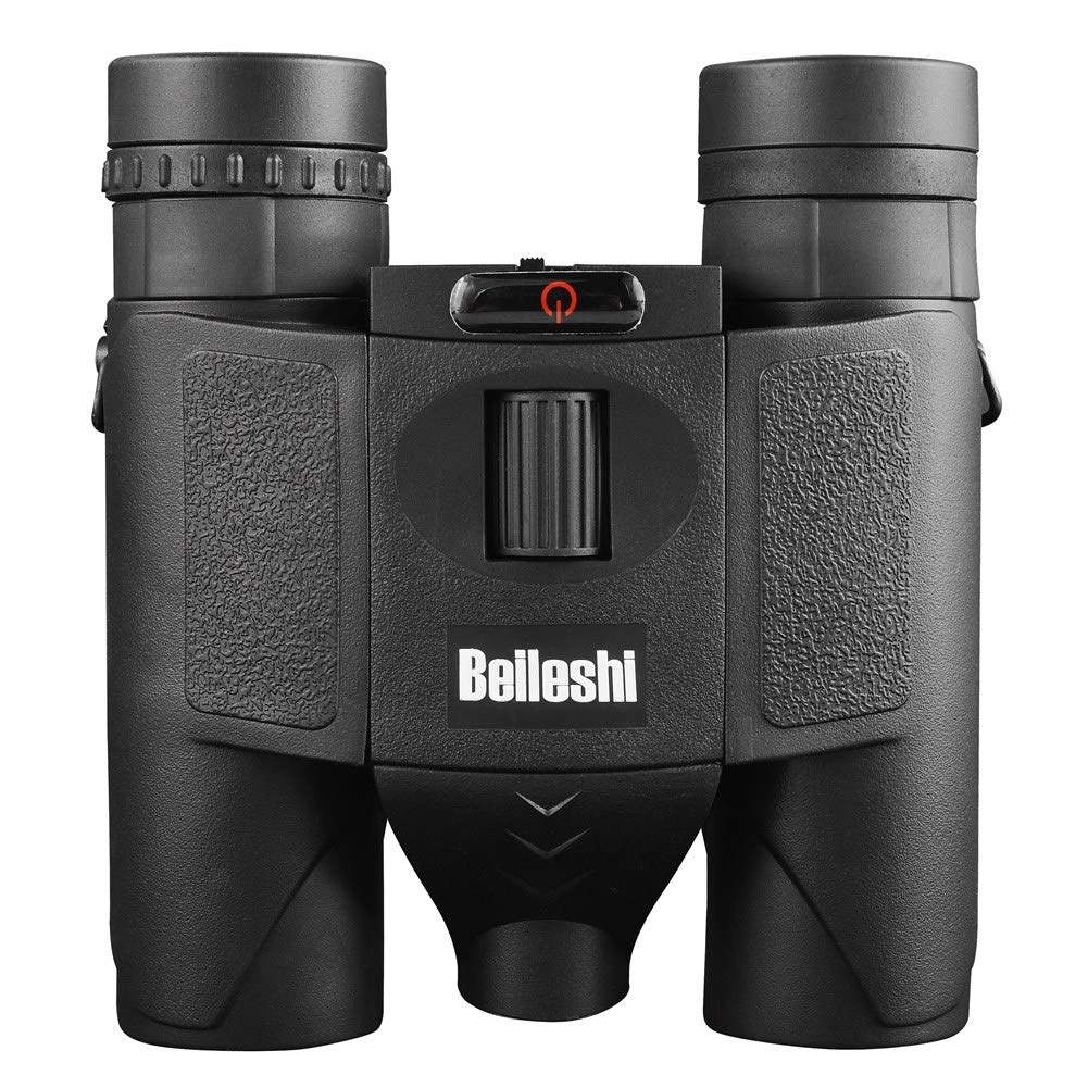 Beileshi 10X Binocular Telescope Laser Radiation Night Vision for Adults Bird Watching Travel Stargazing Hunting Concerts Sports-BAK4 Prism FMC Lens-with Carrying Case (Black-Binocular Laser) by Beileshi (Image #2)