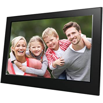 naxa electronics nf 900 9 inch digital photo frame black