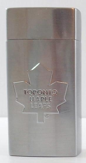 BIC NHL Toronto Maple Leafs Mini encendedores plata Metal soporte, caja de metal