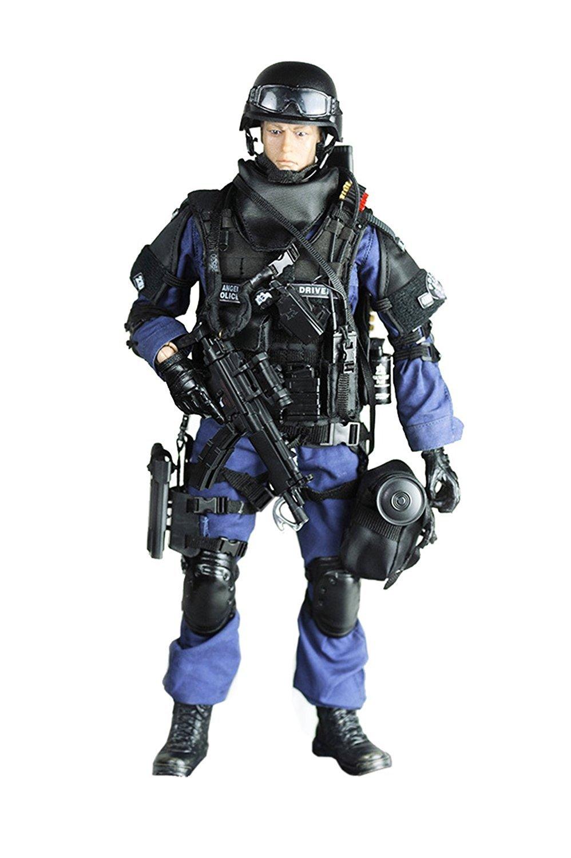 Baellar alta qualità 12  Forze Speciali figura di azione SWAT Team pieghevole Figura del soldato modello di raccolta dei giocattoli militari - Assualter