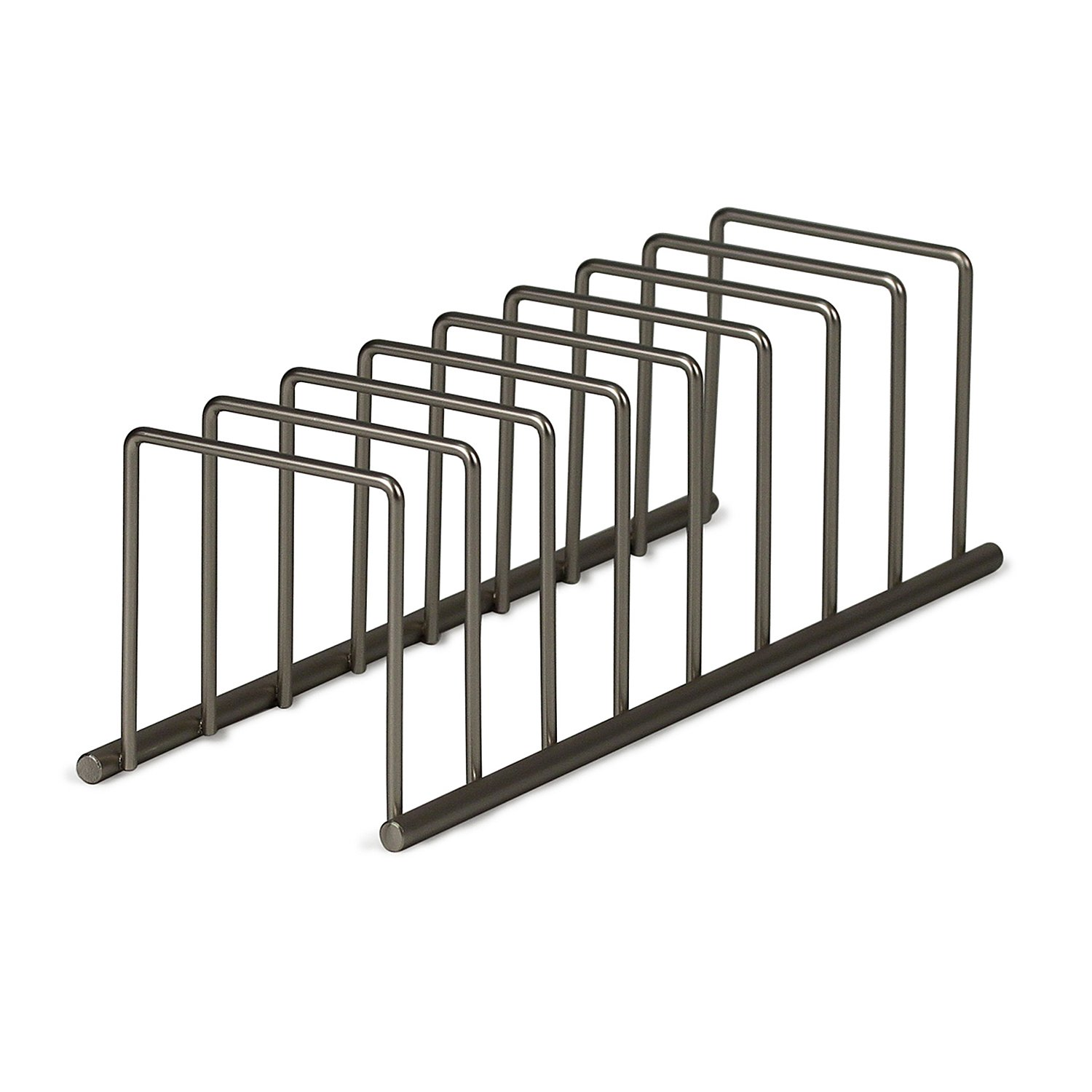Amazon.com   Spectrum Diversified Euro Lid Organizer, Plate Rack, Lid  Holder, Square, Satin Nickel   Kitchen Storage And Organization Product Sets