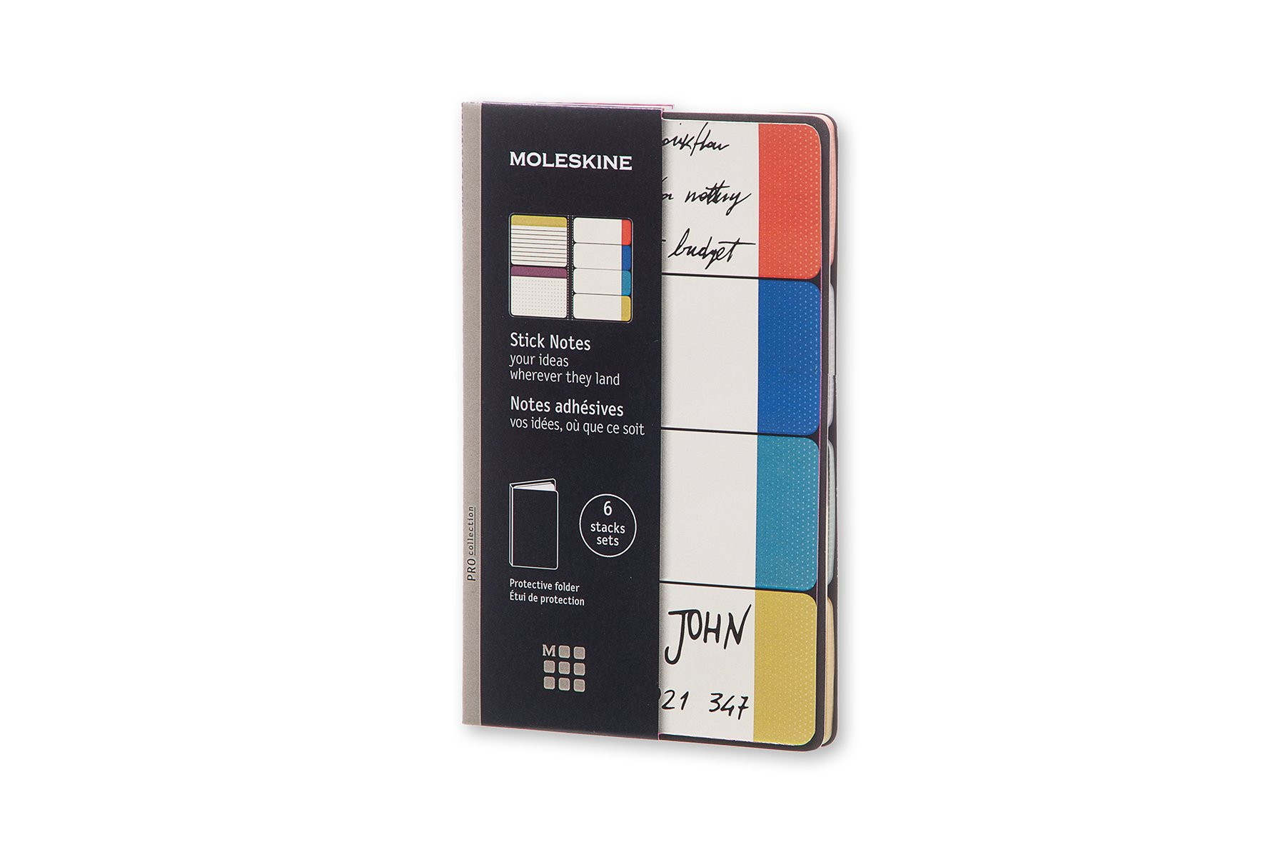 Moleskine Stick Notes Pocket Semicolour (8051272891614)