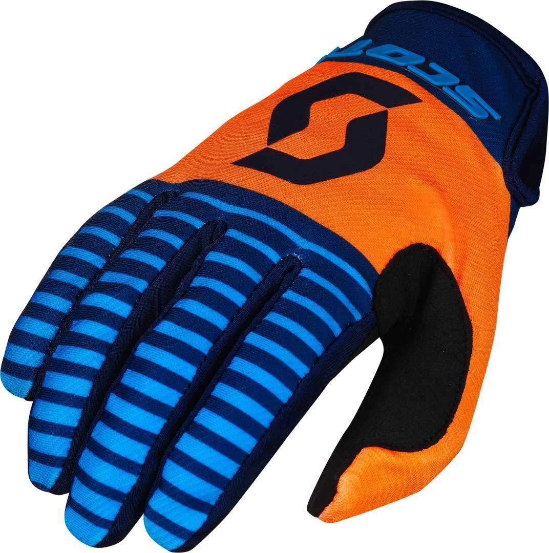 DH Fahrrad Handschuhe blau//weiß 2018 Scott 350 Dirt MX Motocross