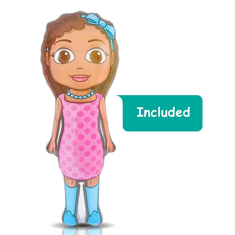Amazon.com: Hinchable Princesa Set por artcreativity (juego ...