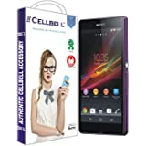 CELLBELL® Tempered Glass Screen Protector For Sony Xperia M2 Dual With FREE Installation Kit