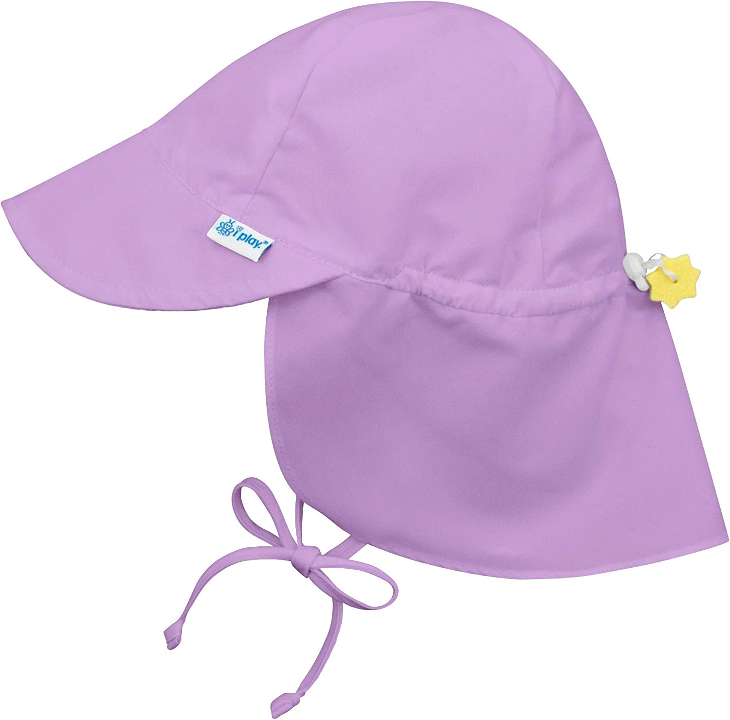 Baby Flap Sun Protection Swim Hat 0-6 Months I-Play Lime
