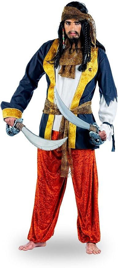 Elbenwald Pirata Disfraz de Gitana – Hombre: Amazon.es: Ropa y ...