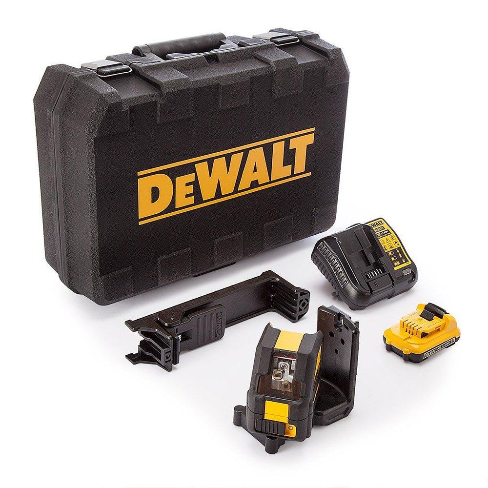 DeWalt DCEDG QW Láser autonivelante de líneas cruz horizontal y vertical kit