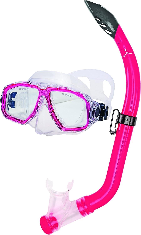 Innovative Scuba Concepts MSF3514A Junior Kids Snorkel Set