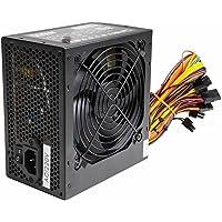 Alimentation PSU 500W ATX PC Avec ventilateur silencieux de 12cm et SATA / 24broches / 4broches / Molex