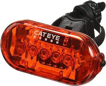 Cat Eye Omni 5 - Luz Trasera de Seguridad para Bicicleta TL-LD155 ...