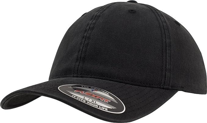 cdce795ea7ec8 Flexfit Men s Sweep Low Profile Crown Structure Twill Cap at Amazon ...