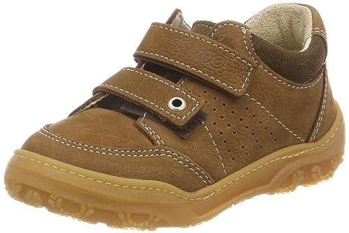 Ricosta Tuan, Zapatillas para Niños, Marrón (Curry 261), 28 EU