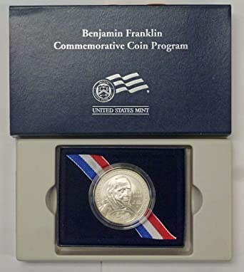 2006 P Ben Franklin Silver One Dollar Founding Father BU Coin ONLY Uncirculated