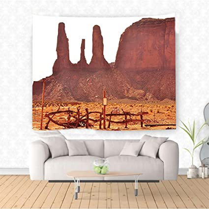 Amazon Com Nalahome House Decor Scenic Archaic Monument Valley On