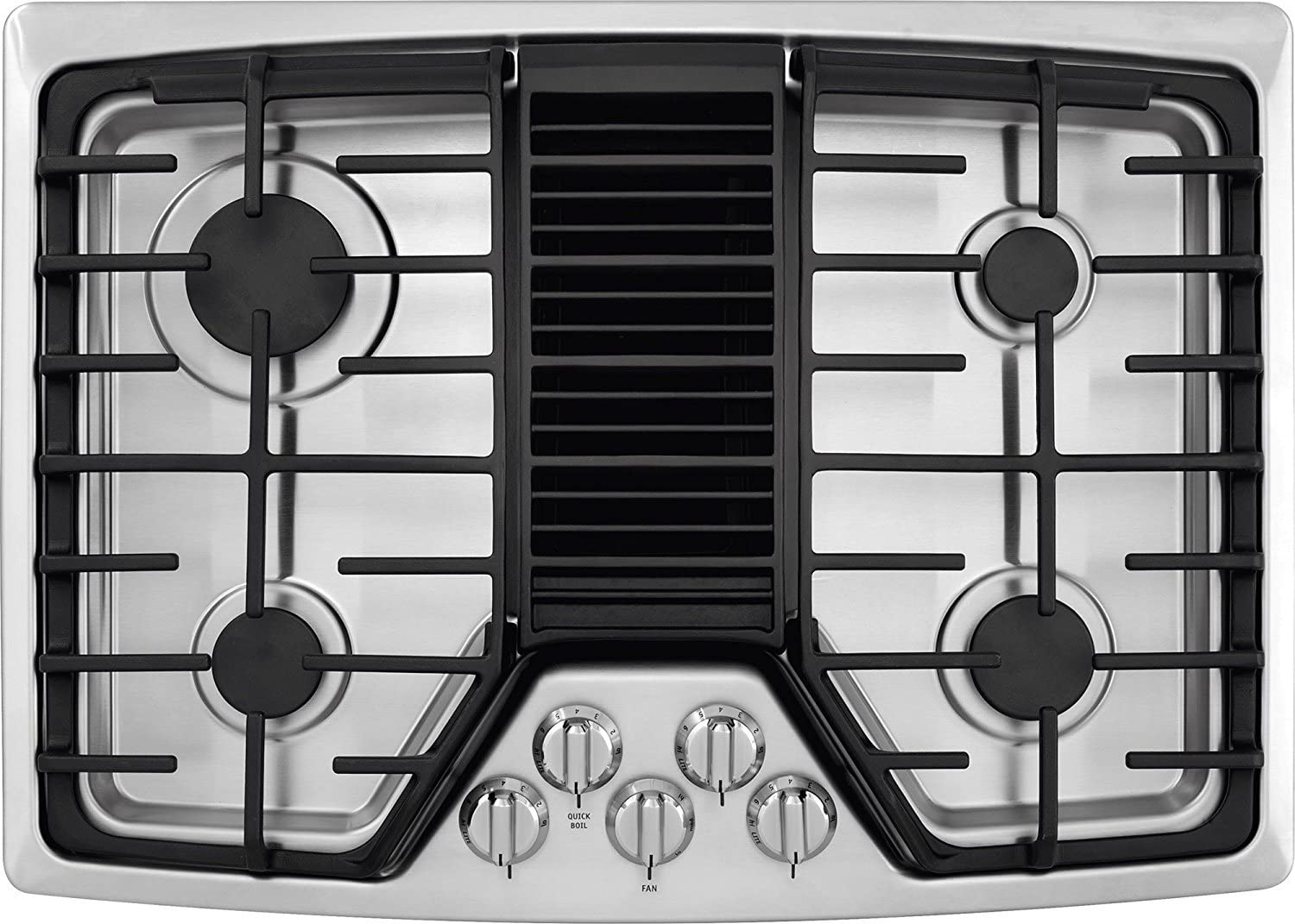 Frigidaire Gas Cooktop with downdraft : Downdraft gas cooktop reviews