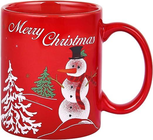 Snowman Christmas Novelty Mug